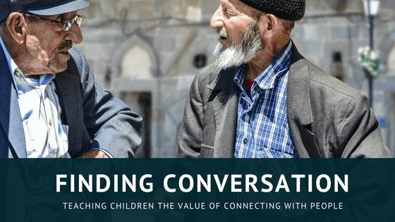 two people speaking