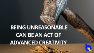 Benefits of being unreasonable