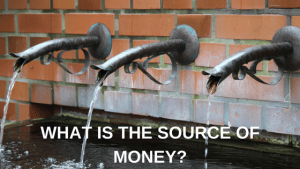source of money
