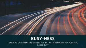 Busy-ness
