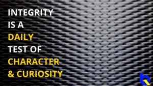 Integrity = Final Test